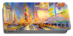 Big Apple Evening, No. 2 Portable Battery Charger by Virgil Carter