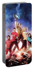 Big Bang Theory 2007 Portable Battery Charger