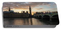 Big Ben London Sunset Portable Battery Charger
