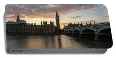 Big Ben London Sunset Portable Battery Charger