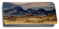 Big Bend Hill Tops Portable Battery Charger
