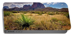 Big Bend Morning Portable Battery Charger