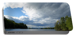 Portable Battery Charger featuring the photograph Big Brooding Sky by Lynda Lehmann