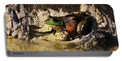 Portable Battery Charger featuring the photograph Big Bud by Al Powell Photography USA