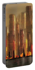 Big City Sunset Portable Battery Charger