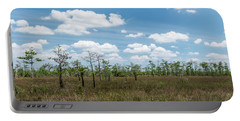 Portable Battery Charger featuring the photograph Big Cypress Marshes by Jon Glaser