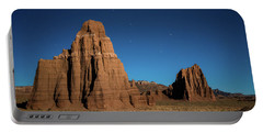 Big Dipper Over Capitol Reef National Park Portable Battery Charger