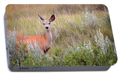Portable Battery Charger featuring the photograph Big Ears by Marty Koch