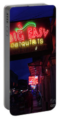 Big Easy Sign Portable Battery Charger by Steven Spak