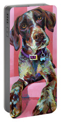 Big Hank, The German Short-haired Pointer Portable Battery Charger