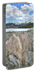 Big Horn Pass In Wyoming Portable Battery Charger