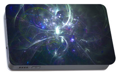 Portable Battery Charger featuring the digital art Big Ideas by Jeff Iverson