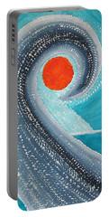 Big Kahuna Original Painting Portable Battery Charger