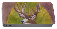 Big Mule Deer Buck Portable Battery Charger