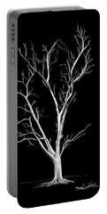 Big Old Leafless Tree Portable Battery Charger