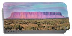 Big Pink Mesa Portable Battery Charger