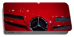 Big Red Smile - Mercedes-benz S L R Mclaren Portable Battery Charger