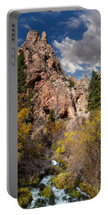 Big Spring In Sheep Creek Canyon Portable Battery Charger