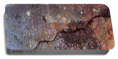 Portable Battery Charger featuring the mixed media Big Stars by Jessica Wright
