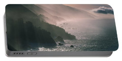 Big Sur Coastline Ca Usa Portable Battery Charger