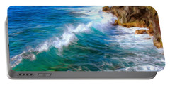 Big Sur Coastline Portable Battery Charger by Dominic Piperata