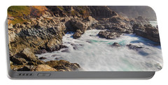 Portable Battery Charger featuring the photograph Big Sur Coastline View Point by Jingjits Photography