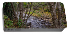 Big Sur River Near The Grange Hall Portable Battery Charger by Derek Dean