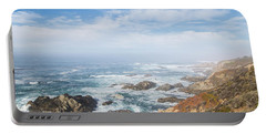 Portable Battery Charger featuring the photograph Big Sur Sea View by Jingjits Photography