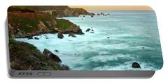 Big Sur Sunrise Portable Battery Charger
