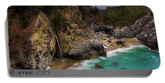 Big Sur Waterfall Portable Battery Charger