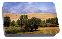 Portable Battery Charger featuring the photograph Big Timber Canyon 2 by Marty Koch
