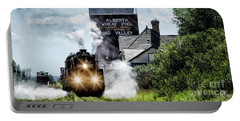 Portable Battery Charger featuring the photograph Big Valley Steam by Brad Allen Fine Art