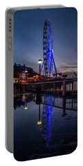 Big Wheel Reflection Portable Battery Charger