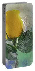Big Yellow Portable Battery Charger by Terry Foster