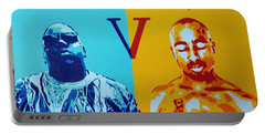 Biggie V Tupac Portable Battery Charger