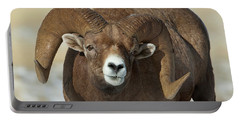 Bighorn Ram In Montana Portable Battery Charger