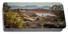 Bighorn Sheep And Mesa Arch Portable Battery Charger
