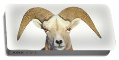 Portable Battery Charger featuring the photograph Bighorn Sheep Ram by Jennie Marie Schell