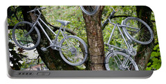 Bikes In A Tree Portable Battery Charger