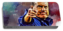 Bill Belichick Do Your Job Portable Battery Charger