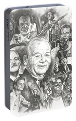Bill Murray Portable Battery Charger by James Rodgers