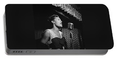 Billie Holiday William Gottlieb Photo New York City 1947 Portable Battery Charger