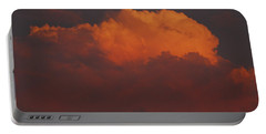 Billowing Clouds Sunset Portable Battery Charger