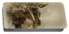Billy Portable Battery Charger by Cyndy Doty