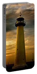 Biloxi Lighthouse - Sunrise Portable Battery Charger