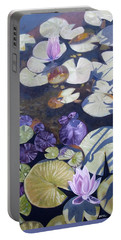 Biltmore Lilypads Portable Battery Charger by Robert Decker