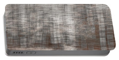 Portable Battery Charger featuring the photograph Birch At The Forest Edge by Thomas Young