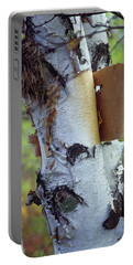 Birch Bark, Leaf And Nest Portable Battery Charger