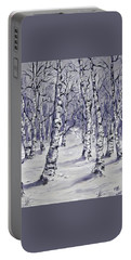 Birch Forest 1  Portable Battery Charger