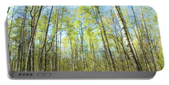 Birch Forest Spring Portable Battery Charger